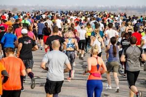 Участники Kharkiv Airport Run 2018 на дистанции