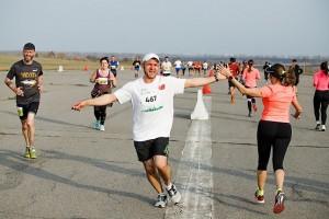 Встреча на пробеге Kharkiv Airport Run 2018