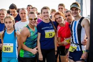 За миг до старта на Kharkiv Airport Run 2018