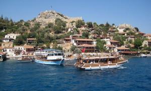 У острова Симена в Турции