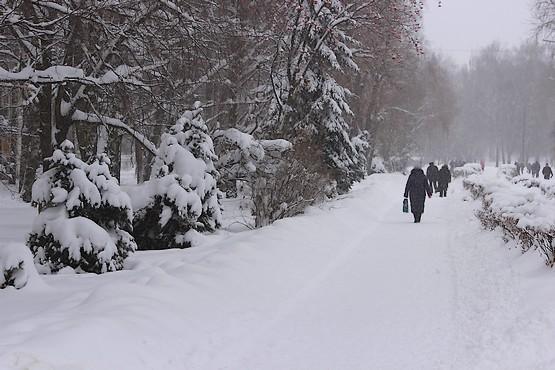Город Первомайский в январе 2019-го