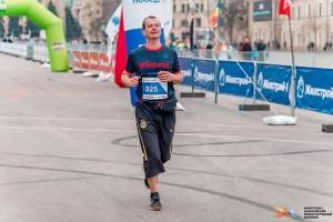 Финиш первого марафона в жизни