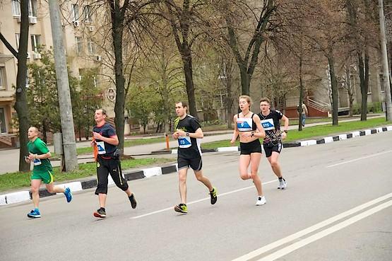 Горки и спуски Харьковского марафона 2019