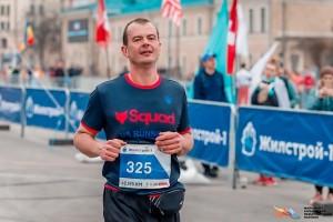 Живой после 42 км марафона