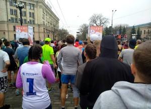 На старте Харьковского интернационального марафона 2019 года