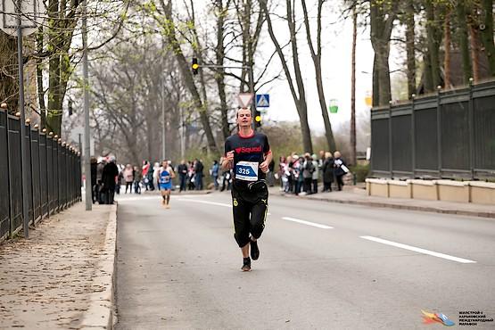 Очередная горка Харьковского интернационального марафона