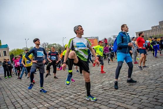 Разминка перед Харьковским интернациональным марафоном 2019
