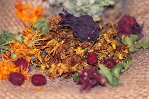 Ингредиенты травяного чая