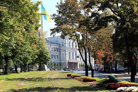 Харьков утопает в зелени