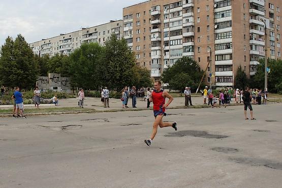 Один из лидеров на дистанции 10 км