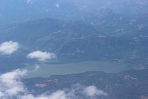 Озеро в горах Турции