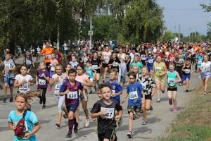 Участники забега на 2.5 км