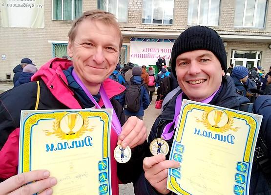 С Олегом после награждения
