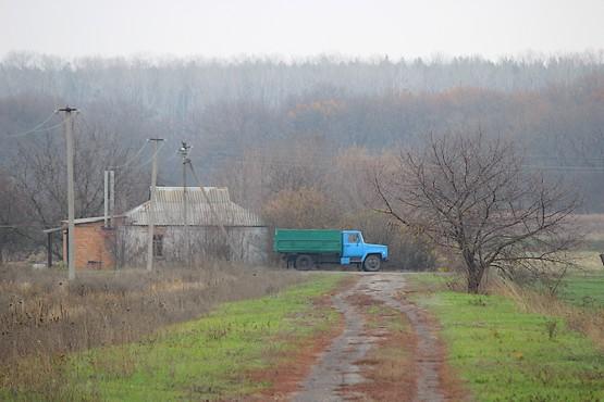 Зелёный грузовик как символ уходящего лета