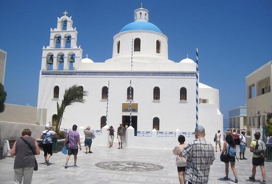 Церковь в городе Ия