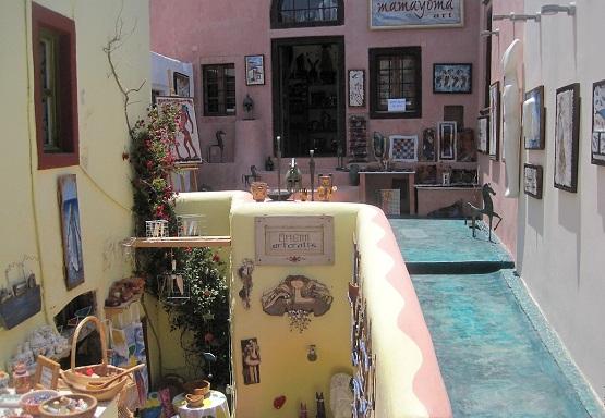 Сувениры острова Санторини