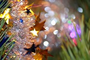 Звёзды и новогоднее боке