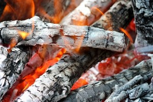 Пламя и жар костра