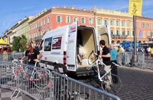 Велосипеды подвезли