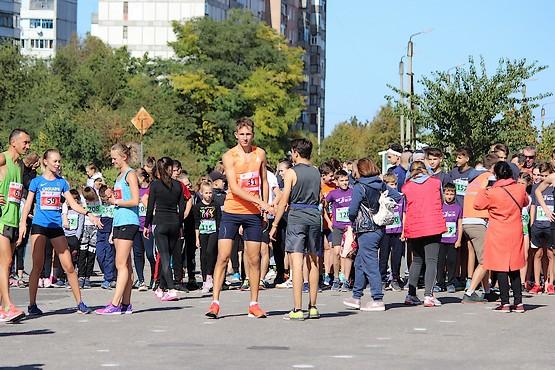 Встреча победителей на дистанциях 5 и 10 км перед стартом