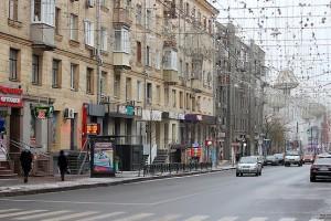Улица в гирляндах