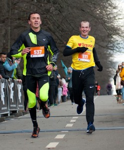 Финиширую полон сил на Kharkiv Half Marathon 2021