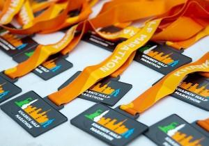 Медали Kharkiv Half Marathon 2021