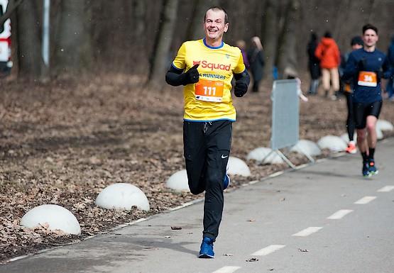 Первые 10 км на Kharkiv Half Marathon 2021