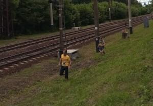 Бег вдоль железной дороги
