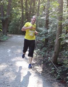 На позитиве бегу Kharkiv Trail Half Marathon 2021