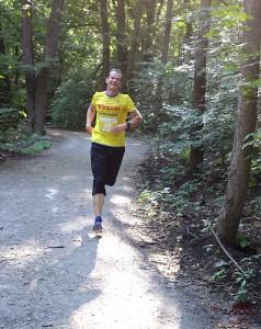 Первые километры Kharkiv Trail Half Marathon 2021