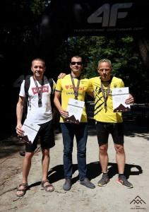 Первое место в возрастной категории на Kharkiv Trail Half Marathon 2021