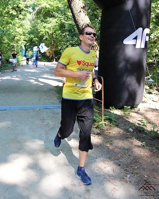 Секунда после финиша Kharkiv Trail Half Marathon 2021
