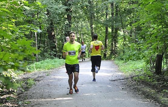 Убегаю на третий круг Kharkiv Trail Half Marathon 2021