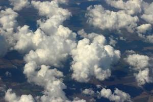 Пушистые облака Украины