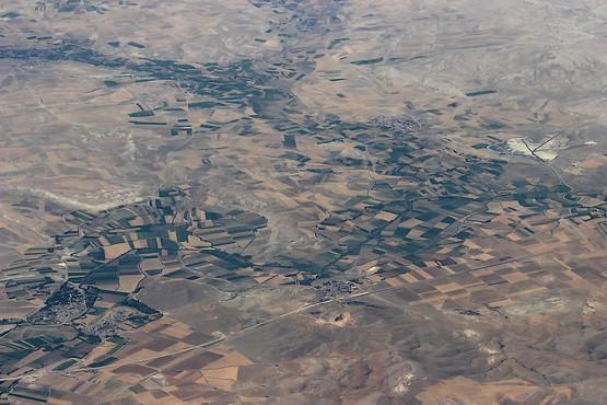 Турция из иллюминатора самолёта
