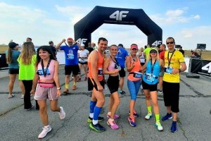 Первомайцы на финише в NIX Kharkiv Airport Run 2021