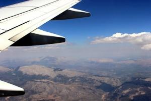 В полёте за пару недель до забега
